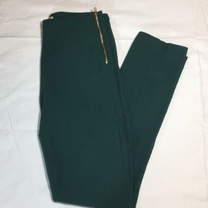 H&M Green Ankle Pants